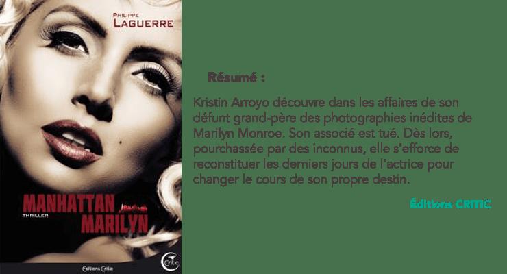 Résumé Manhattan Marilyn - Philippe Ward   Laguerre   © Les Insouciantes