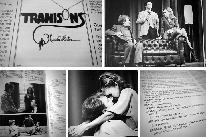 """Images issues du n° spécial de : """"L'avant-scène théâtre""""   1982   Médiathèque Jean-Lévy, Lille"""