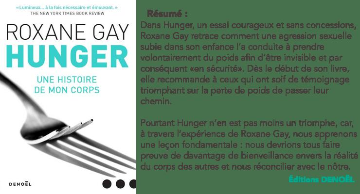 "Résumé ""Hunger"" de Roxane Gay"