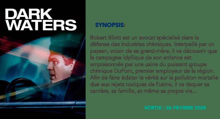 Résumé Dark Waters | © Les Insouciantes