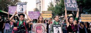 Image manifestation issue de la série la jauria (Chili)